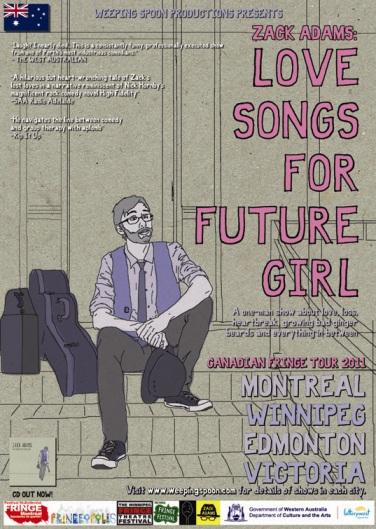 LOVE SONGS FOR FUTURE GIRL | ZACKADAMS ORG