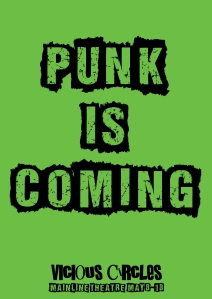 PUNK IS COMING green