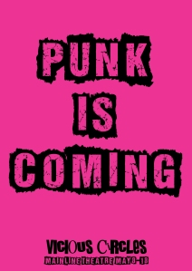 PUNK IS COMING pink