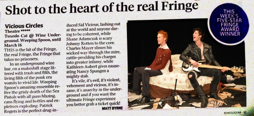 SUNDAY MAIL REVIEW