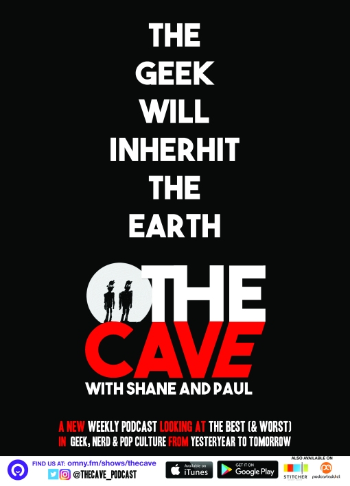 A3 THE CAVE OMNY poster