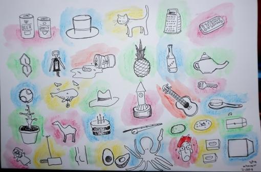 21-8-18 doodles